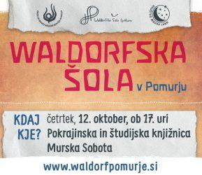 WALDORFSKA ŠOLA V POMURJU 1. predstavitev